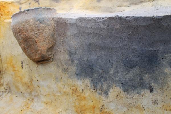Een goed bewaarde urne uit de vroege ijzertijd © Monument Vandekerckhove
