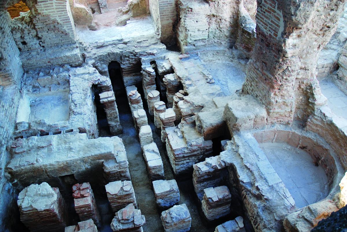 Romeins badhuis in Apamea © ULB, Centre belge de recherches archéologiques à Apamée